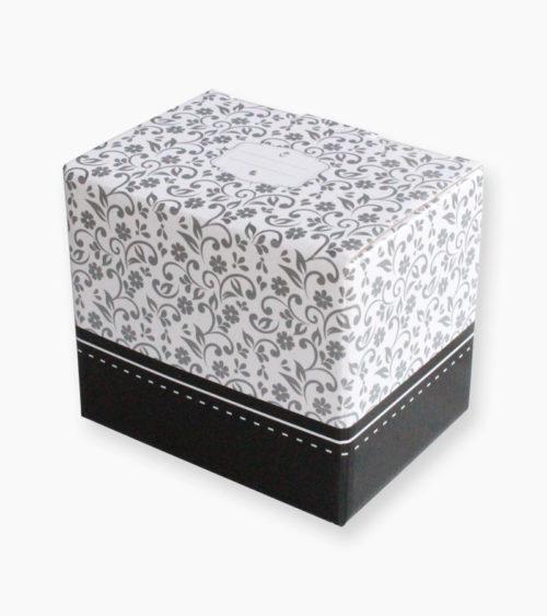 Tassen Geschenk Box Blumenprint
