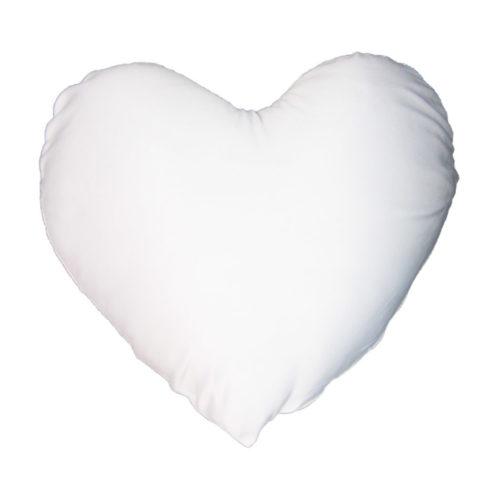 Kissen Hülle Weiß Herzform