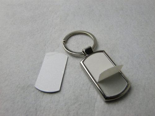 Sublimation Schlüsselanhänger Länglich abgerundet